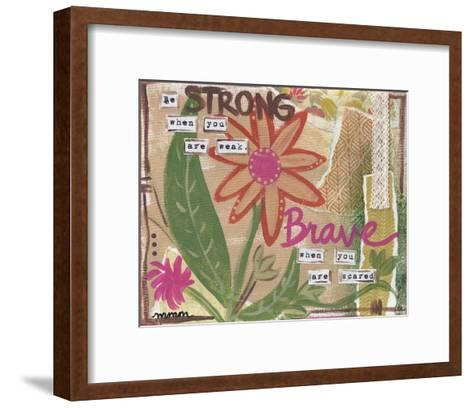 Be Strong-Monica Martin-Framed Art Print