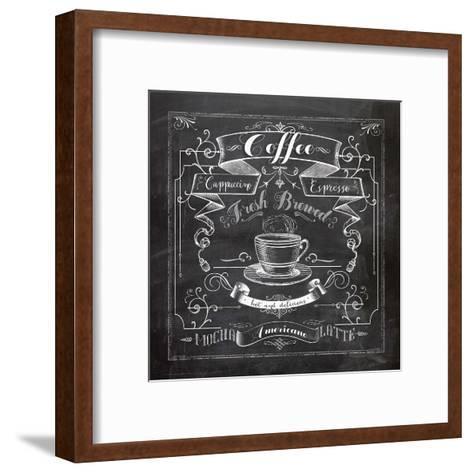 Chalkboard Coffee-Washburn Lynnea-Framed Art Print