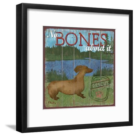 Dog Days III-Paul Brent-Framed Art Print