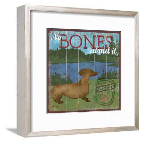 Dog Days III-Paul Brent-Framed Art Print