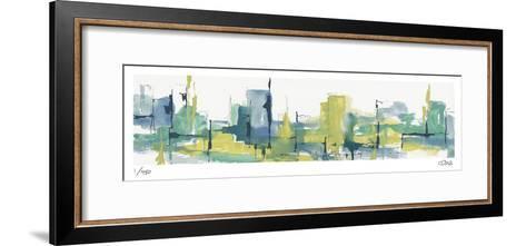 City Citron-Chris Paschke-Framed Art Print