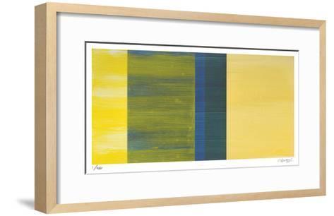Color Field 4-Teresa Camozzi-Framed Art Print
