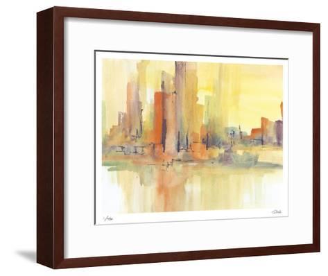 City Glow I-Chris Paschke-Framed Art Print