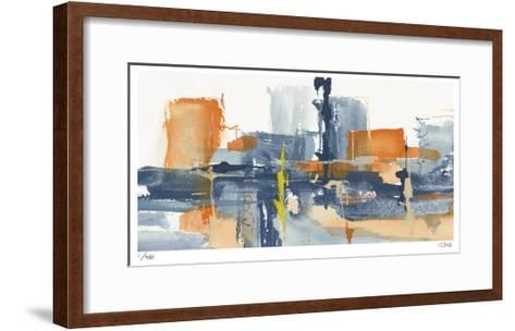 City Orange I-Chris Paschke-Framed Art Print