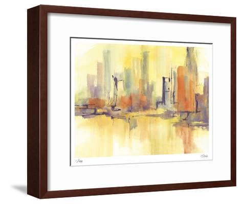 City Glow II-Chris Paschke-Framed Art Print