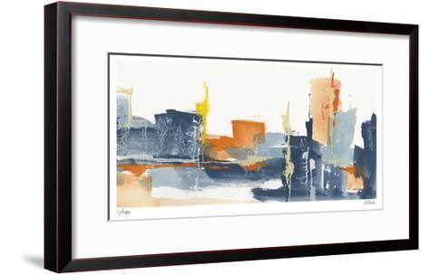 City Orange II-Chris Paschke-Framed Art Print