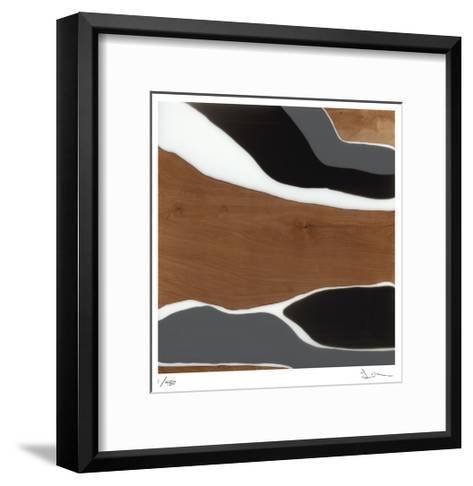 Sand--Framed Art Print