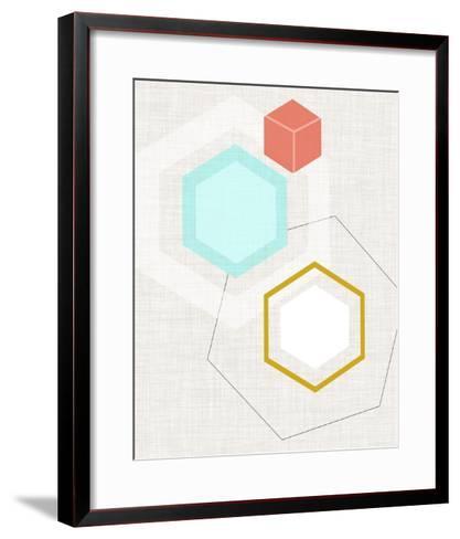 Mod Geometry I-Jarman Fagalde-Framed Art Print