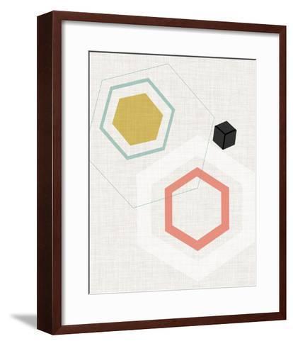 Mod Geometry II-Jarman Fagalde-Framed Art Print
