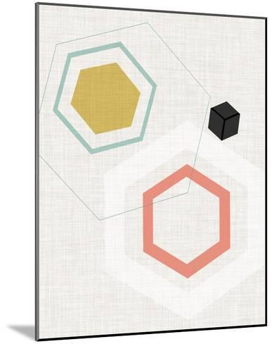 Mod Geometry II-Jarman Fagalde-Mounted Art Print