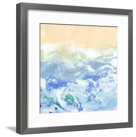 Morning Surf I-Alicia Ludwig-Framed Art Print