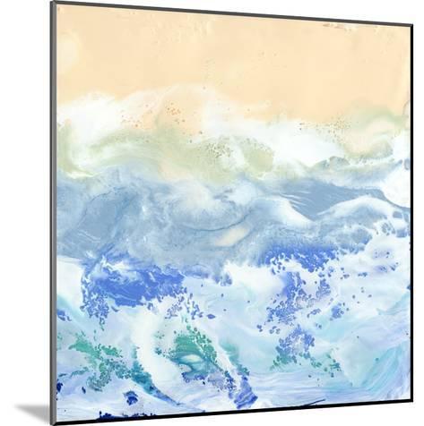 Morning Surf I-Alicia Ludwig-Mounted Art Print