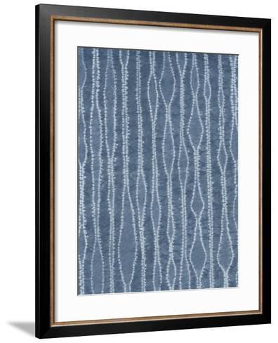 Riki's Shibori II-Chariklia Zarris-Framed Art Print