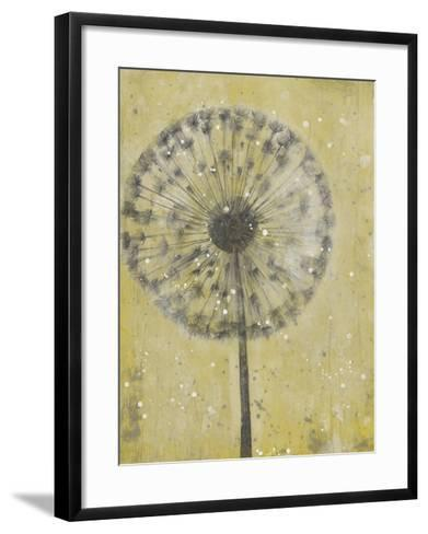Dandelion Abstract II-Tim O'toole-Framed Art Print