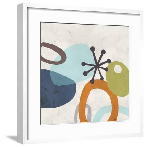 Sunshine Jumble I-June Erica Vess-Framed Art Print
