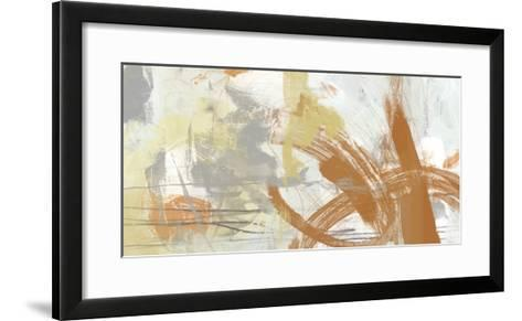 Tangerine & Grey II-June Erica Vess-Framed Art Print
