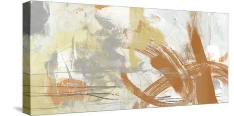 Tangerine & Grey II-June Erica Vess-Stretched Canvas Print