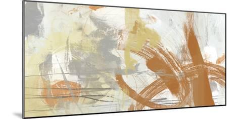 Tangerine & Grey II-June Erica Vess-Mounted Art Print