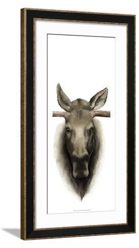 Triptych Moose II-Grace Popp-Framed Art Print