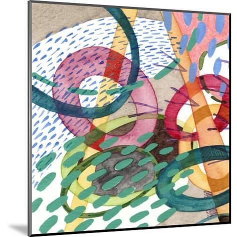 Stratosphere I-Nikki Galapon-Mounted Art Print