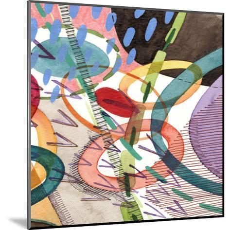 Stratosphere II-Nikki Galapon-Mounted Art Print