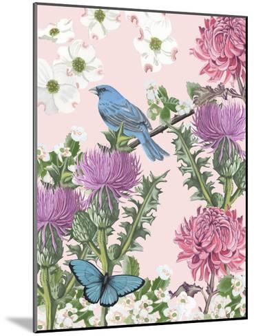 Bird Garden IV-Naomi McCavitt-Mounted Art Print