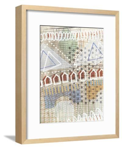 Home Grid II-Nikki Galapon-Framed Art Print