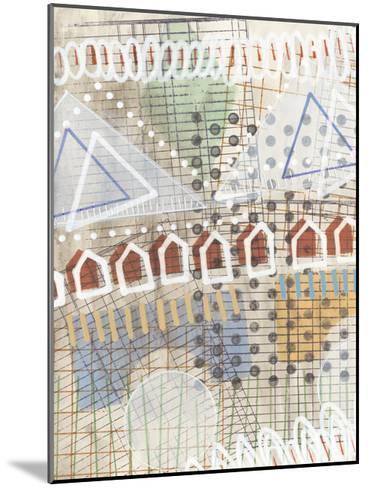 Home Grid II-Nikki Galapon-Mounted Art Print