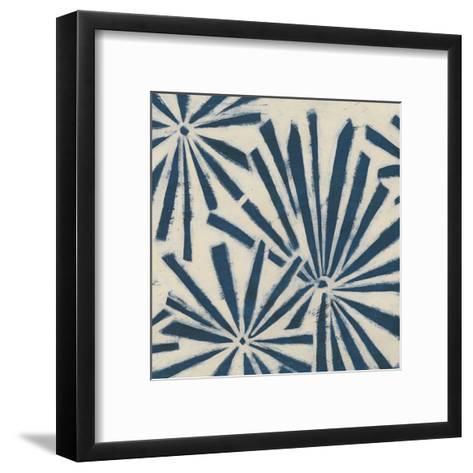 Indigo Signals V-June Erica Vess-Framed Art Print