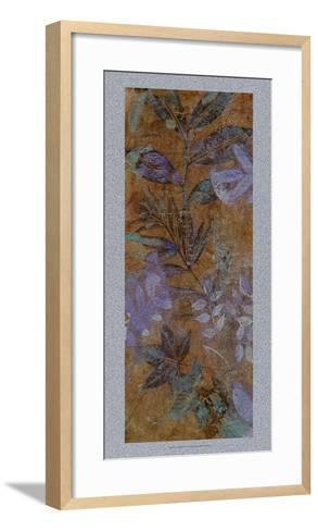 Leaf Shimmer I-Tim O'toole-Framed Art Print