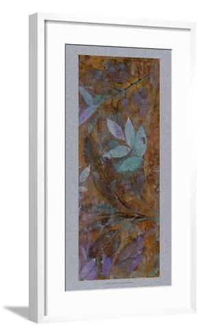 Leaf Shimmer II-Tim O'toole-Framed Art Print