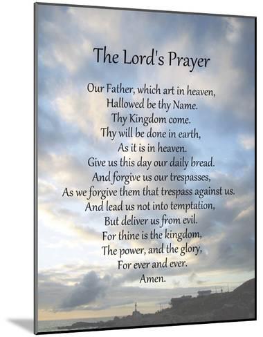 The Lord's Prayer - Scenic-Veruca Salt-Mounted Art Print