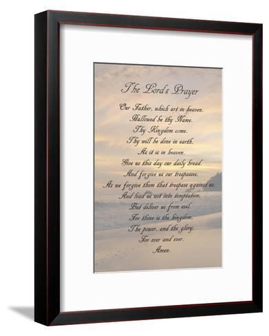 The Lord's Prayer - Sunset-Veruca Salt-Framed Art Print