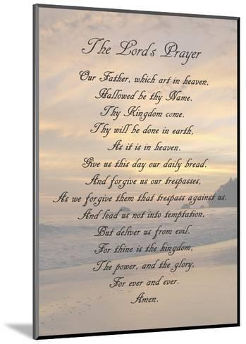 The Lord's Prayer - Sunset-Veruca Salt-Mounted Art Print