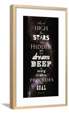 Reach High for Stars-Veruca Salt-Framed Art Print