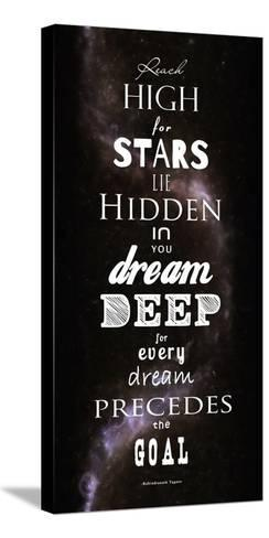 Reach High for Stars-Veruca Salt-Stretched Canvas Print