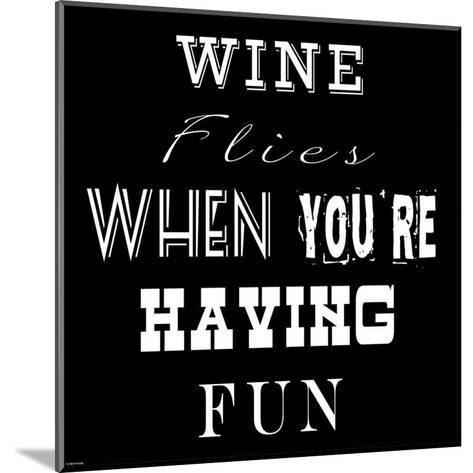 Wine Flies-Veruca Salt-Mounted Art Print
