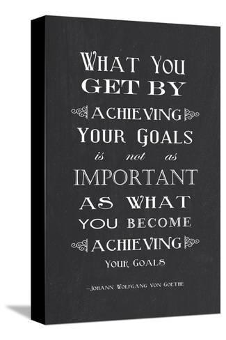 Achieving Your Goals-Veruca Salt-Stretched Canvas Print