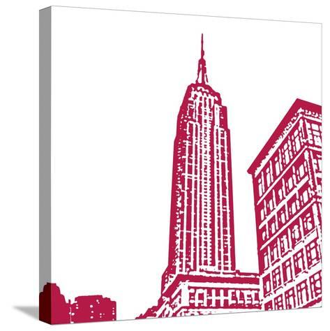 Red Empire-Veruca Salt-Stretched Canvas Print