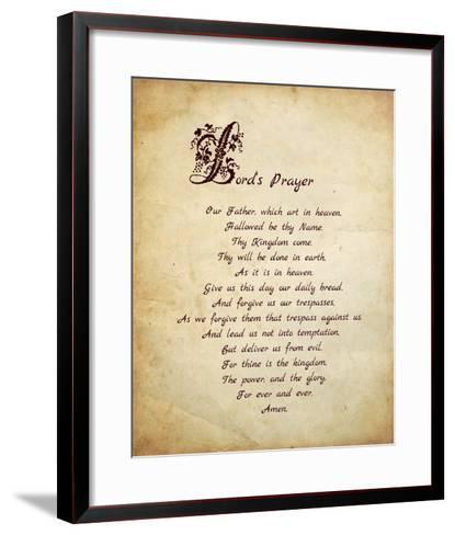 Lord's Prayer-Veruca Salt-Framed Art Print
