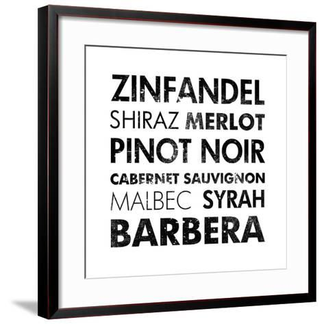 Red Wine III-Veruca Salt-Framed Art Print