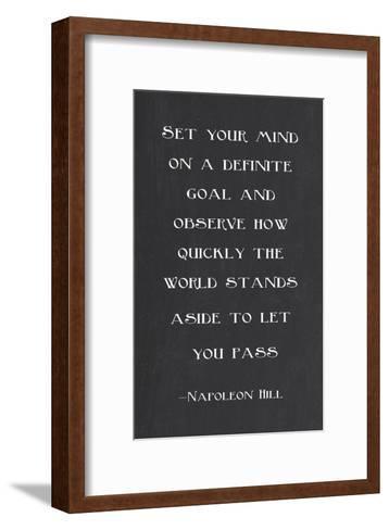Goal-Veruca Salt-Framed Art Print