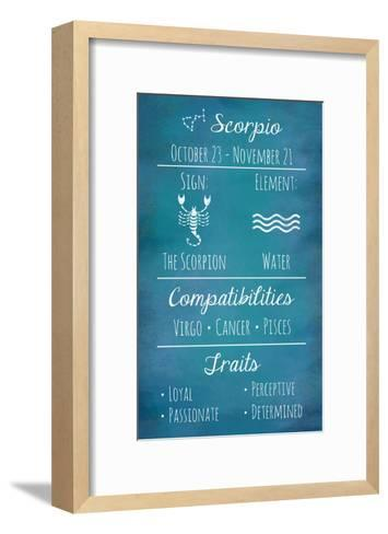 Scorpio Zodiac Sign-Veruca Salt-Framed Art Print