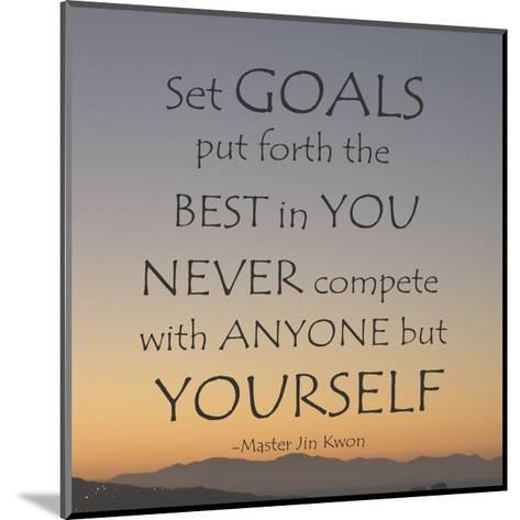 Set Goals-Veruca Salt-Mounted Art Print