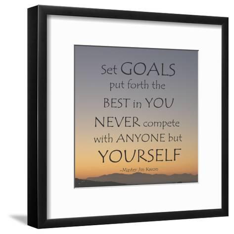 Set Goals-Veruca Salt-Framed Art Print
