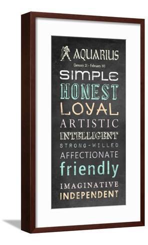 Aquarius Bus Roll-Veruca Salt-Framed Art Print