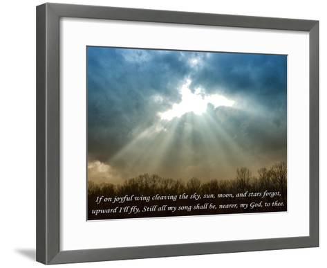 Nearer God To Thee-Veruca Salt-Framed Art Print