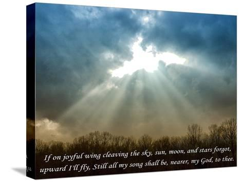 Nearer God To Thee-Veruca Salt-Stretched Canvas Print
