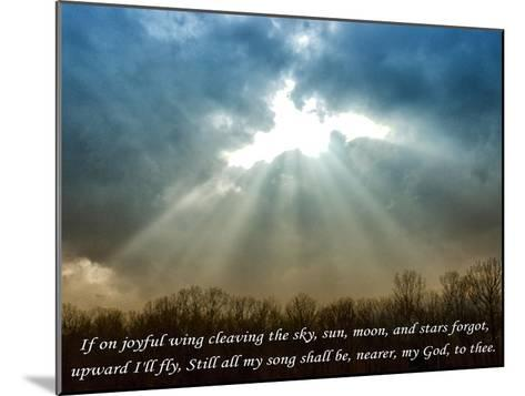 Nearer God To Thee-Veruca Salt-Mounted Art Print
