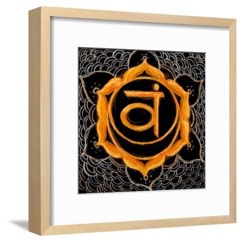 Svadhisthana - Sacral Chakra, Sweetness-Veruca Salt-Framed Art Print